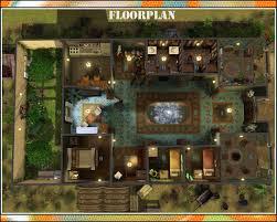 Amityville House Floor Plan by Roman House Plan Escortsea