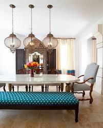 moroccan style dining room home