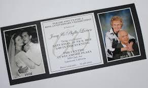 60th wedding anniversary invitations anniversary invitations 60 anniversary invitations invite card
