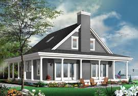 4 bedroom country house plan with wrap around porch 22428dr