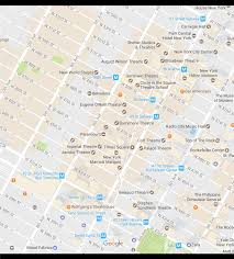 map of new city new york city times square neighborhood map