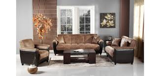 Living Room Furniture Warehouse Istikbal Furniture Aspen Mocha Convertible Living Room Set
