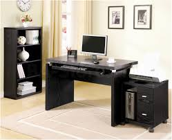 Black Desk With Hutch Cabinets Entrancing Crystal Office Armoire With Elegant