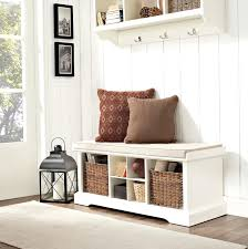 entryway bench with baskets and cushions black entryway bench coaster with storage baskets and cushions