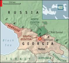 south ossetia map sitrep russia war aug 13 08 cobb