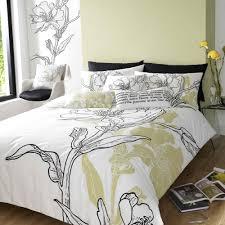 Ikea Bedding Sets Ikea Janet Reger Ellie King Duvet Cover Set With Black Flower