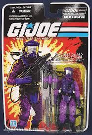 gi joe yearbook review of g i joe collector s club oktober guard flamethrower