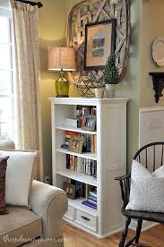 Bookcase Decorating Ideas Living Room From The Kids Room To The Living Room Bookcase Makeover