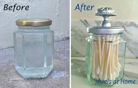 bathroom apothecary jar ideas silver spray paints u2013 diy apothecary jar and painted screen
