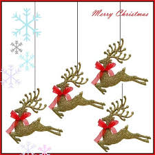 Flying Reindeer Christmas Decorations by Buy Christmas Decoration Online At Cheap Price In India Free