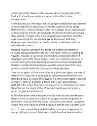 sample essay on roles of interior designers