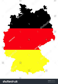 Black And Red Flag Country Border Line Country Germany Filled Flag Stock Vector 50010541