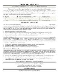 exle professional resume cpa resume writer free certified accountant exle accountingg