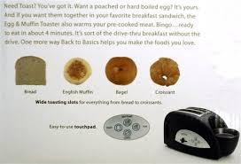 English Toaster Amazon Com Back To Basics Tem500 Egg And Muffin 2 Slice Toaster