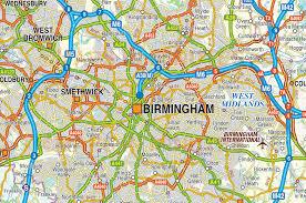 Birmingham England Map by Birmingham Map My Blog