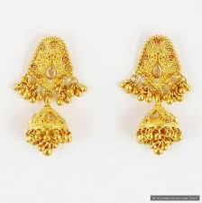 gold earrings images 22ct indian gold earrings 808 36 earrings indian jewellery