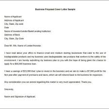 proposal cover letter format sample business proposal cover