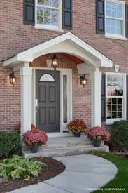 Best Porch Awning Reviews Best 25 Front Door Awning Ideas On Pinterest Metal Awning