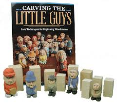 Wood Carving For Beginners Kit by Carving The Little Guys Kit Chippingaway