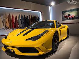 ferrari yellow yellow ferrari 458 speciale at ferrari world finals 2013 gtspirit