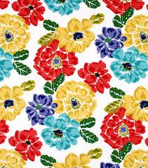 home decor print fabric robert allen at home best bouquet calypso