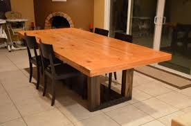 how to make a rustic table to build a rustic wood table