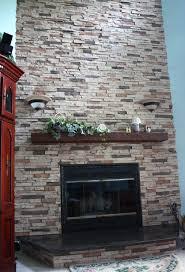 stack stone fireplace 3755