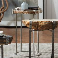 table sweet petrified wood accent table so thats cool solid tab