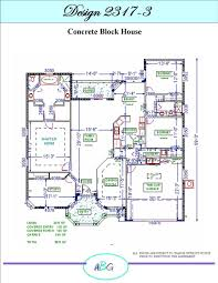 Cinder Block Home Plans Alliance Builders Group Inc