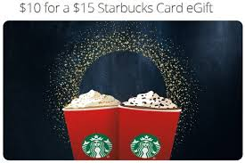 starbuck gift card deal starbucks gift card deal 15 for 10 on groupon heels travel