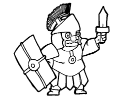 frightened soldier coloring coloringcrew