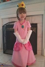 Peach Halloween Costume Toddler Princess Peach Costume
