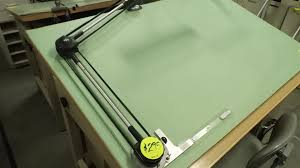 Vemco Drafting Table A Used Vemco Xii V Track Drafting Machine Description From