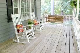 rocking chair front porch concept a home is made of love