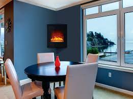 Electric Wall Fireplace Electric Wall Fireplaces Heater Wall Mount Chic And Modern Wall