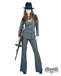 Halloween Costume Gangster Amazon Gangster Moll Zoot Suit Costume Clothing