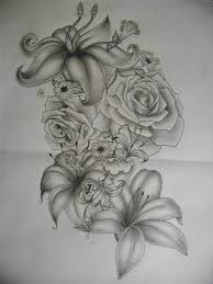 japanese floral half sleeve tattoo design picmia