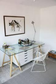 Schreibtisch Mit Aufsatz Buche Die Besten 25 Schreibtisch Mit Glasplatte Ideen Auf Pinterest