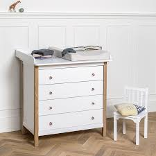 babybett und wickelkommode set oliver furniture baby und kinderbett wood eiche online kaufen