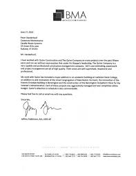 Sample Letter Of Recommendation Template Free letters of reference vms construction