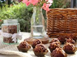 ferrero rocher aka six ingredient chocolate hazelnut balls