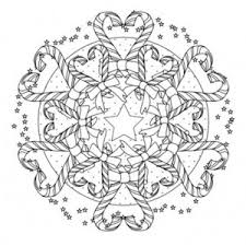 toys mandala christmas coloring pages place color
