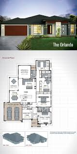 3 Storey House Plans Floor Cool One Living House Plans The Best Single Storey Ideas On