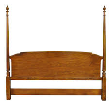 All Wood Bed Frame Vintage Used Headboards Chairish