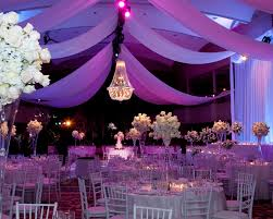 draped ceiling wedding and event ceiling drapery