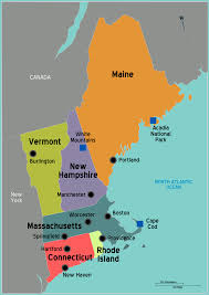 Fl East Coast Map Map Maps Usa Middle West East Coast New England States Florida In
