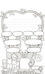 family tree worksheet for kids worksheets