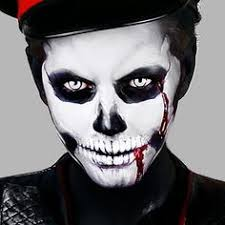 here is a scary skull inspired makeup tutorial in a timelapse i had alot of fun doing this as it was one of the first times you guys got to see my