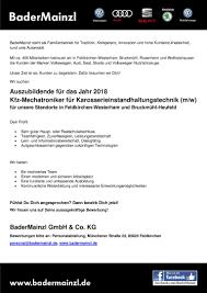Autohaus Huber Bad Reichenhall Job Azubi 2018 Kfz Mechatroniker Kfz Mechatronikerin Für