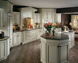 White With Brown Glaze Kitchen by White Glazed Kitchen Cabinets Sumptuous 15 Cabinet Pictures And